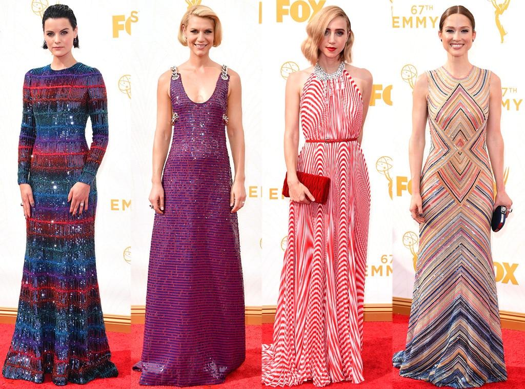 Kaleidoscopic Stripe, Emmy Awards 2015