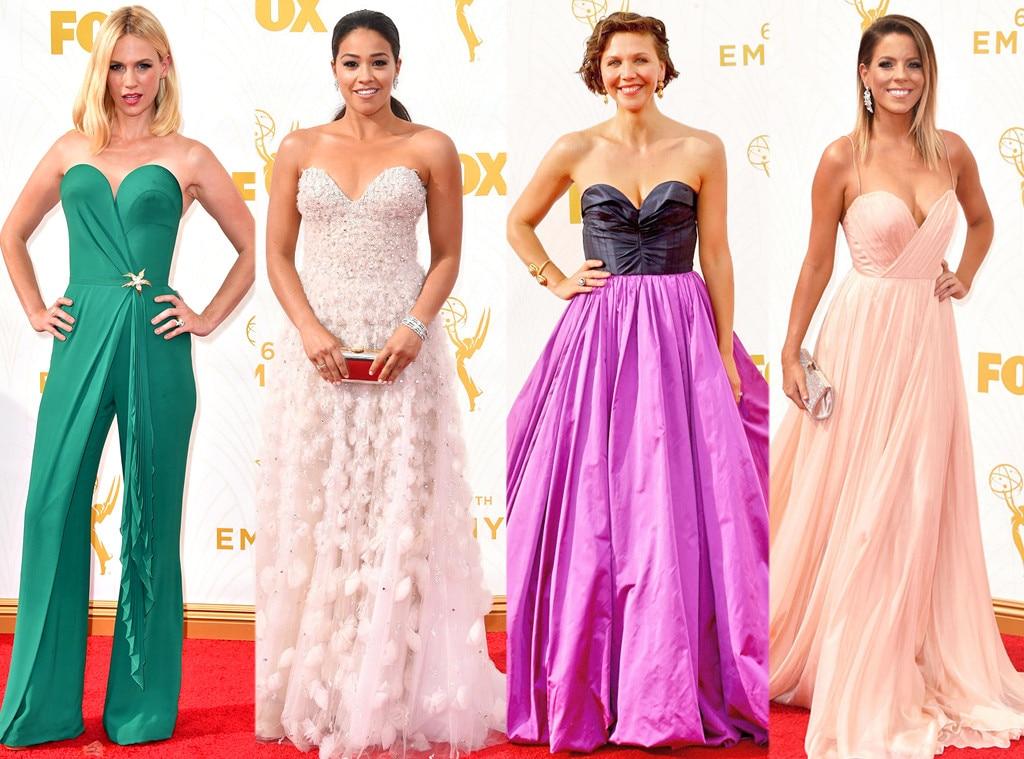 Sweetheart Neckline, Emmy Awards 2015