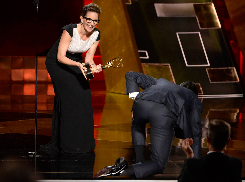 Tina Fey, Jon Hamm, Emmy Awards 2015