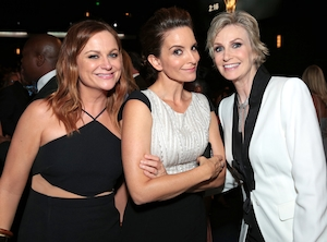 Amy Poehler,Tina Fey, Jane Lynch, Emmy Awards 2015, Candids
