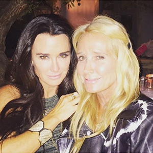 Kim Richards, Kyle Richards, Birthday Dinner