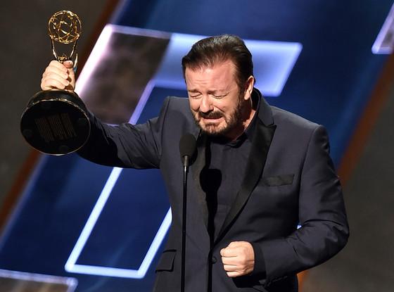 Ricky Gervais, Emmy Awards 2015, Show
