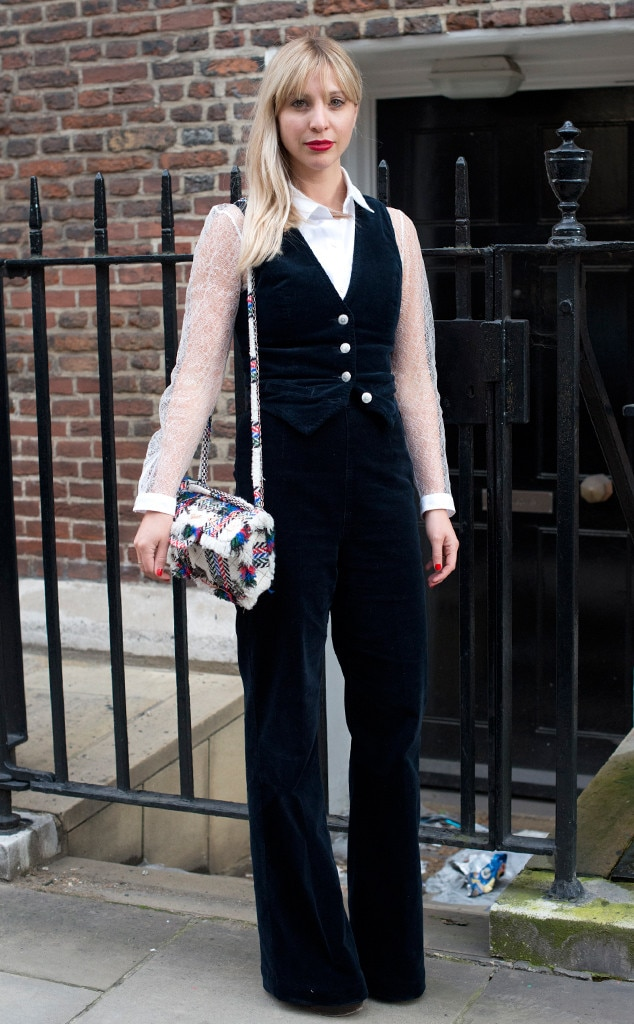 Kerry Pieri From Street Style At London Fashion Week Spring 2016 E News