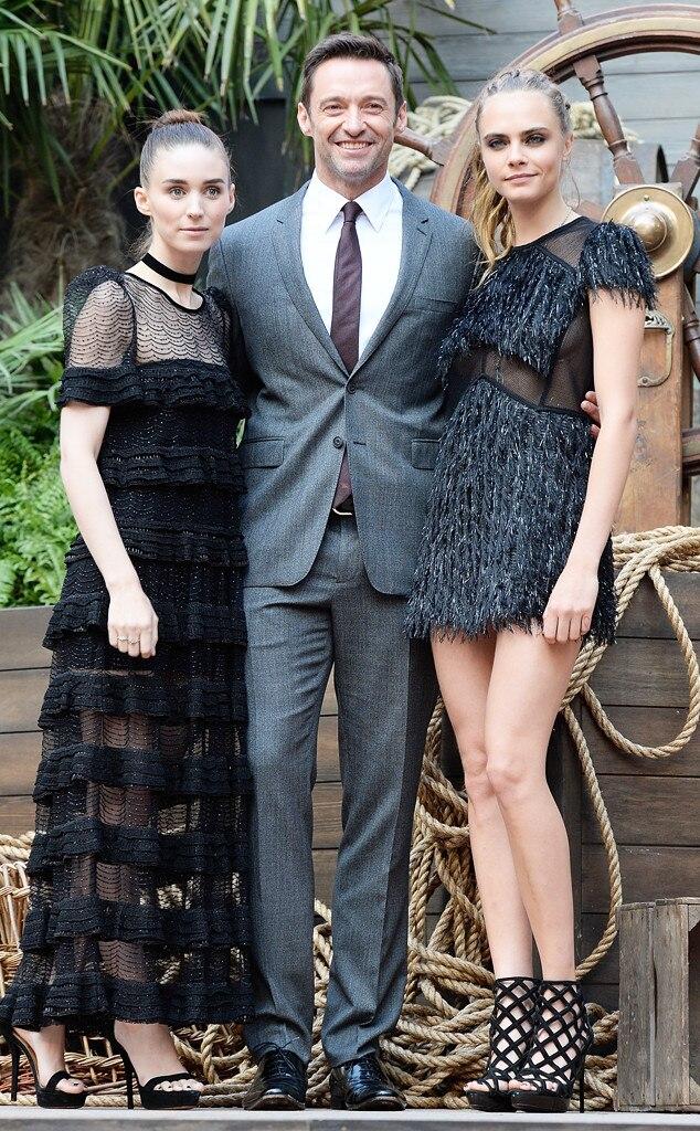 Rooney Mara, Hugh Jackman, Cara Delevingne