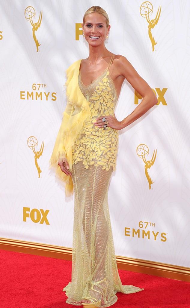 Heidi Klum from Worst Dressed at the 2015 Emmys | E! News Emmyschoice