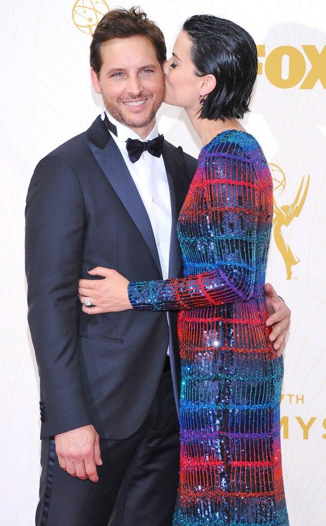 Peter Facinelli, Jaimie Alexander, Emmy Awards 2015, Candids