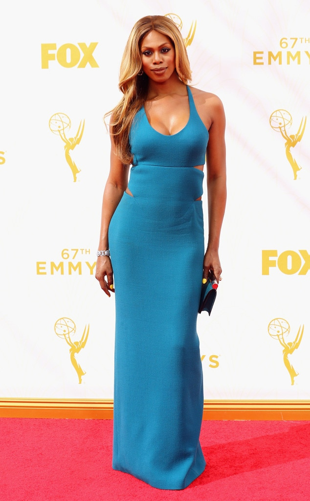 Laverne Cox, Emmy Awards 2015
