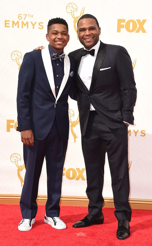 Anthony Anderson, Nathan Anderson , Emmy Awards 2015