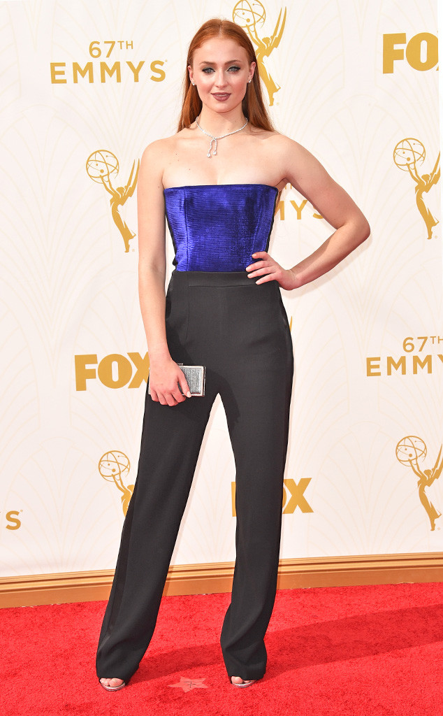 Sophie Turner from Young Style Stars at the 2015 Emmys