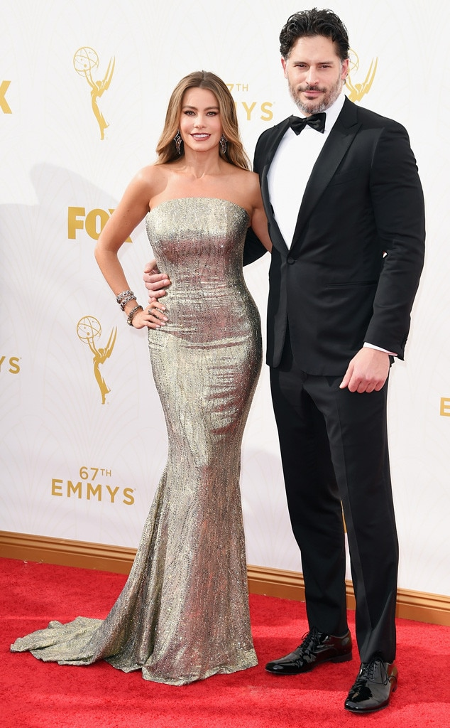 Sofia Vergara, Joe Manganiello, Emmy Awards 2015