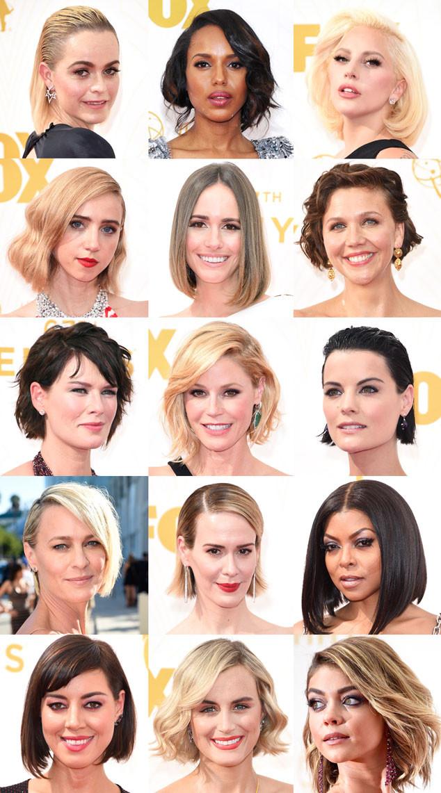 Bobs, Faux Bobs, Emmy Awards 2015