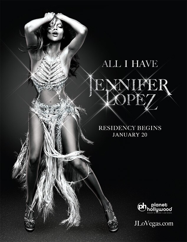 Jennifer Lopez, All I Have Las Vegas Concert Residency Artwork