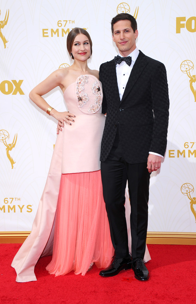 Joanna Newsom, Andy Samberg, Emmy Awards 2015