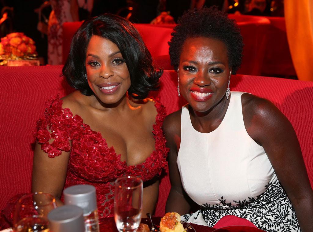 Niecy Nash, Viola Davis, HBO Emmy After Party