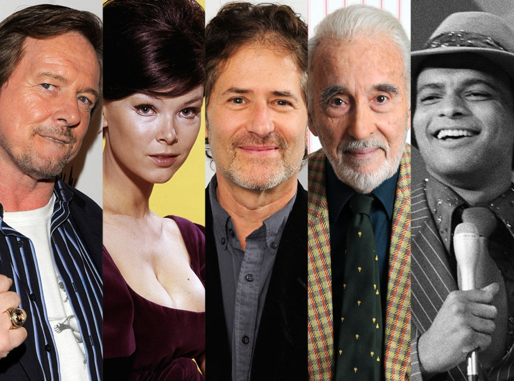 "Christopher Lee, Alton ""Ben"" Powers, James Horner, Yvonne Craig, ""Rowdy"" Roddy Piper"