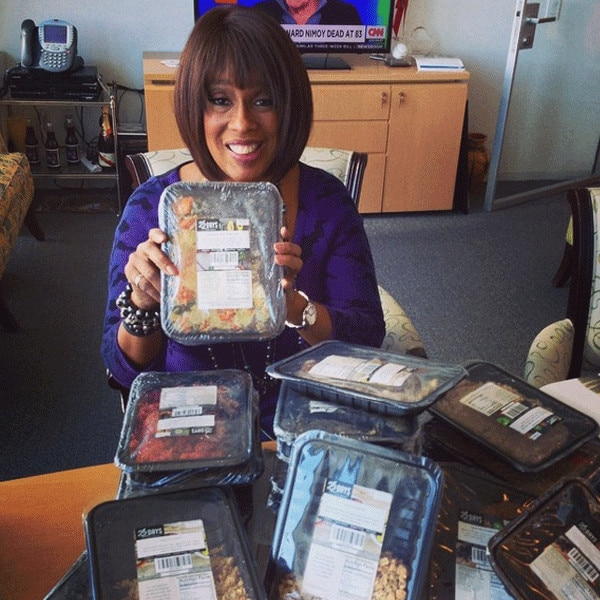 Gayle King, Instagram