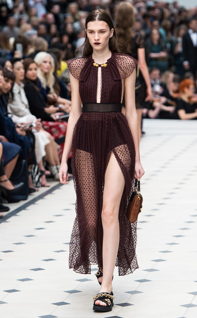 Burberry Prorsum From Best Looks From London Fashion Week Spring 2016 E News