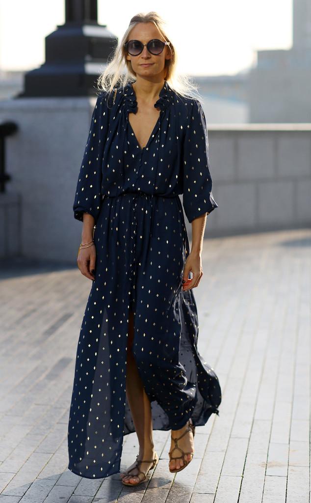 Martha Ward From Street Style At London Fashion Week Spring 2016 E News