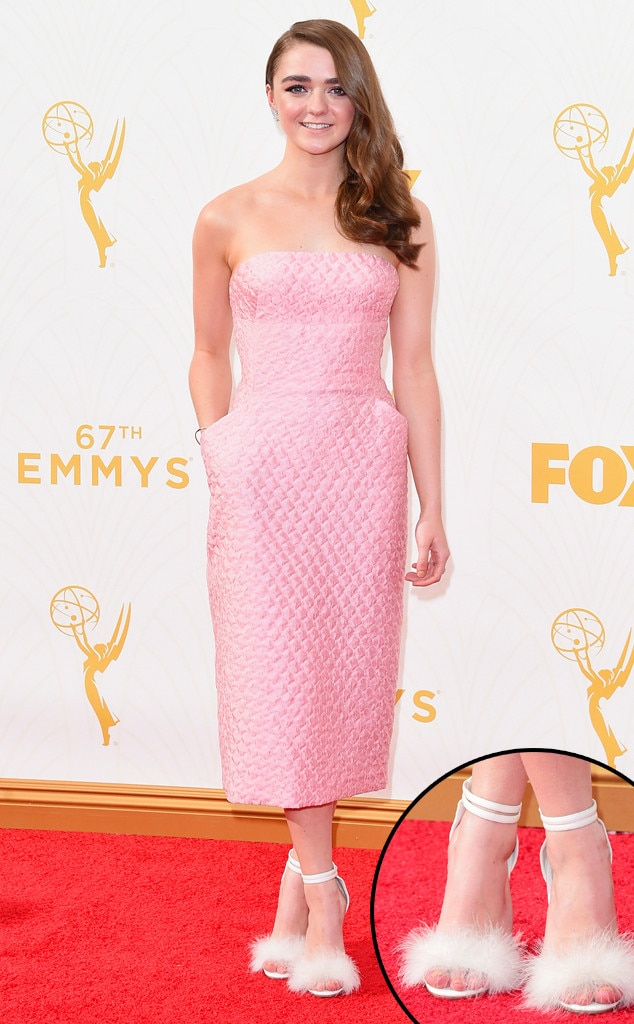 Maise Williams, Emmy Awards 2015, Shoes