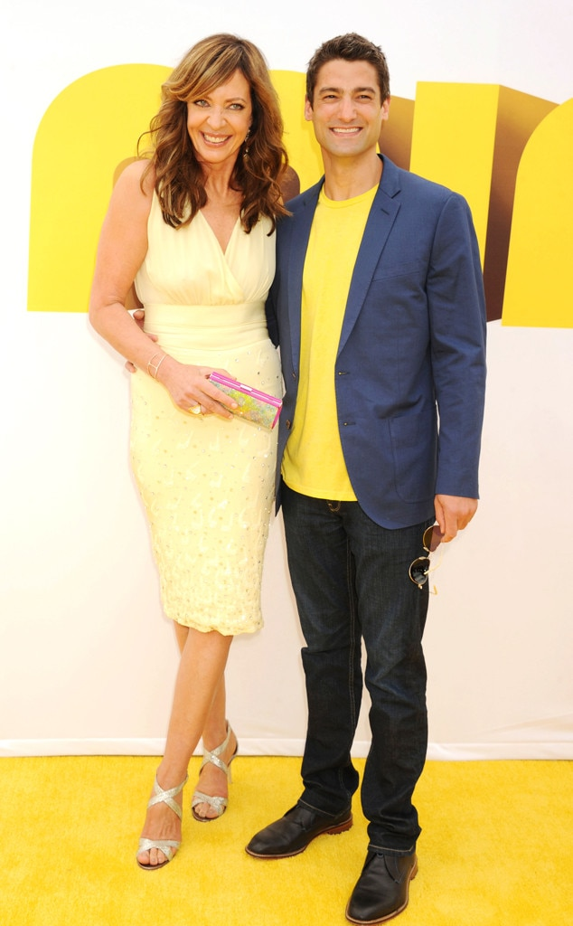 Allison Janney, Philip Joncas, Emmy Awards 2015