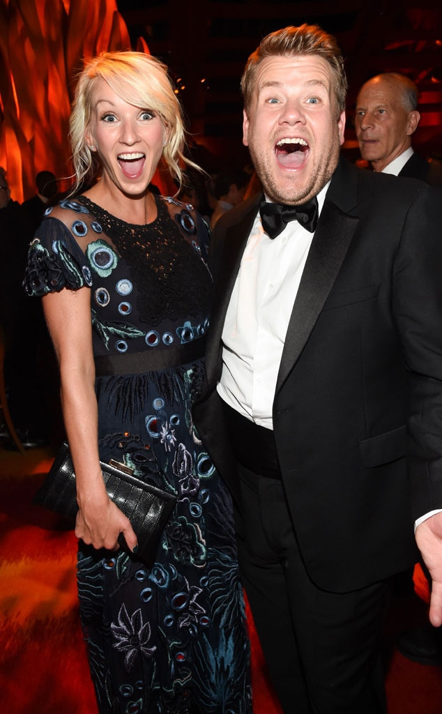 Julia Carey, James Corden