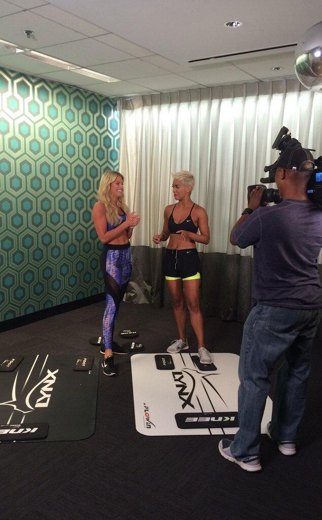 Barbie Blank, Workout