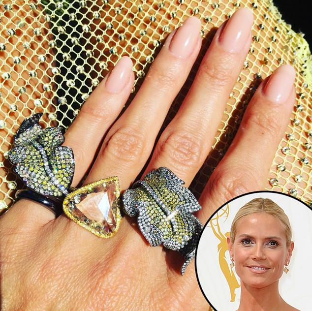 Heidi Klum, Emmy Awards 2015, Best Accessories, Rings