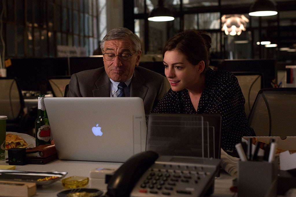 The Intern, Anne Hathaway, Robert De Niro