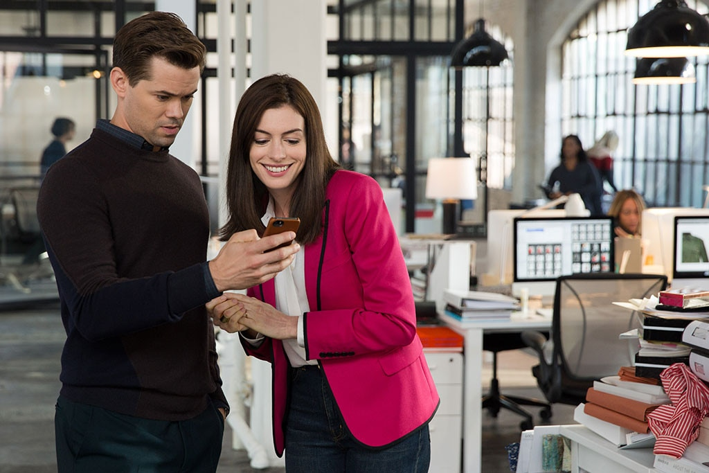 The Intern, Anne Hathaway, Andrew Rannells