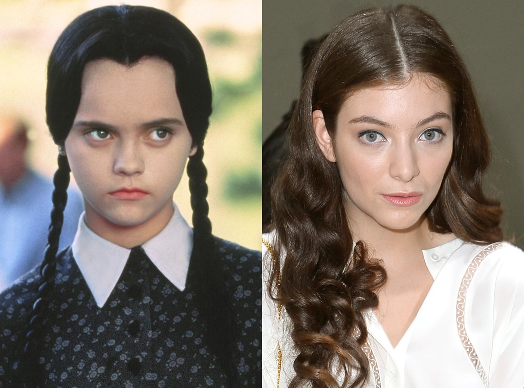 Christina Ricci, Addams Family, Lorde