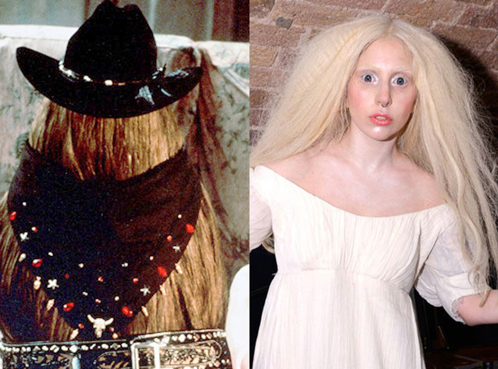Addams Family, Cousin Itt , John Franklin, Lady Gaga