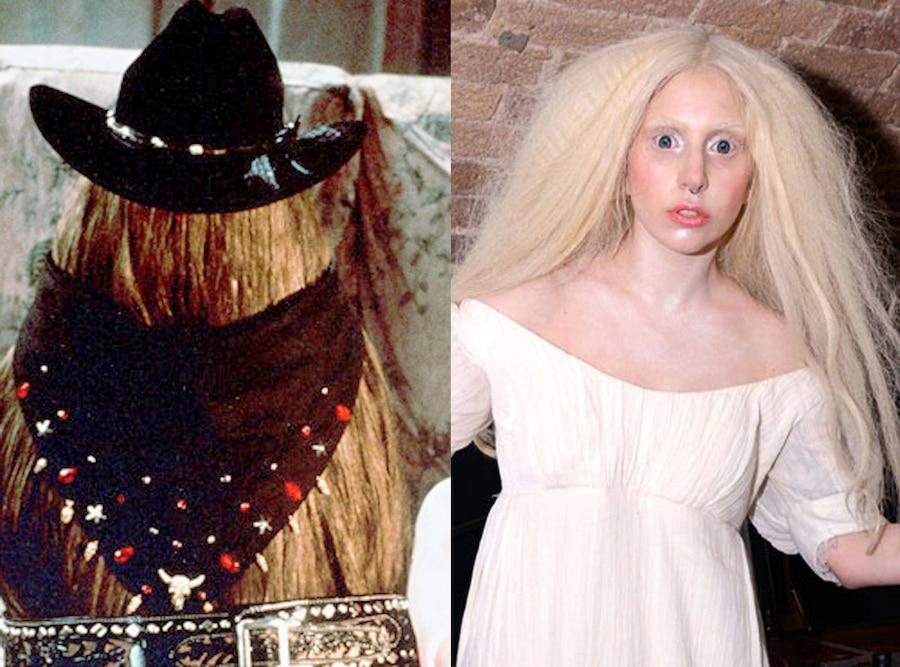 Addams Family, Cousin Itt , John Franklin, Lady Gaga
