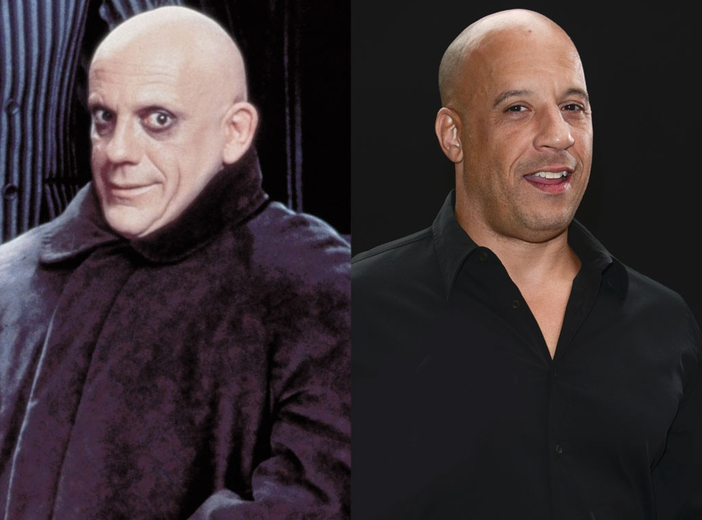 Uncle Fester, Vin Diesel Addams Family