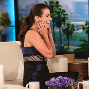 Lea Michele, Ellen DeGeneres