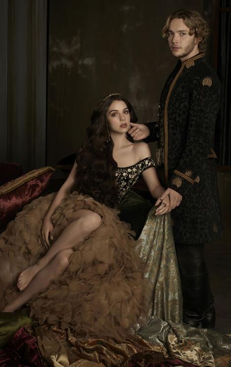 Reign, Adelaide Kane, Toby Regbo, Mary, Francis, Season 2