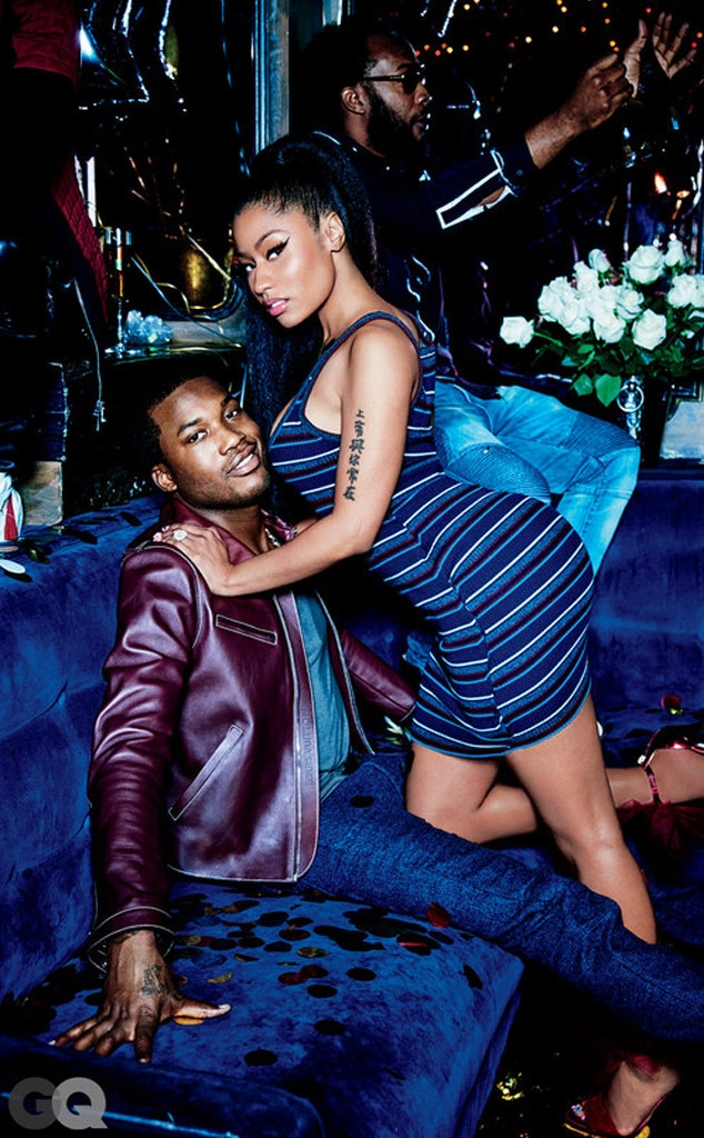 Nicki Minaj, Meek Mill, GQ