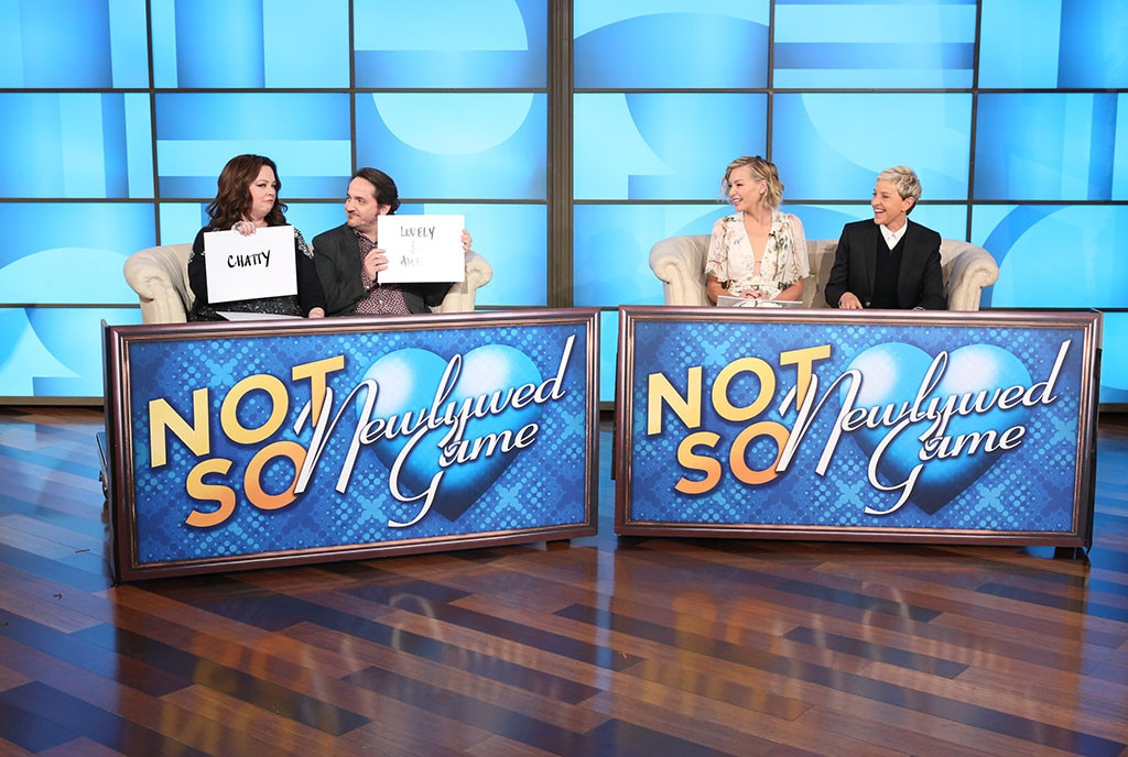 Ben Falcone, Melissa McCarthy, Ellen DeGeneres, Portia De Rossi, The Ellen DeGeneres Show