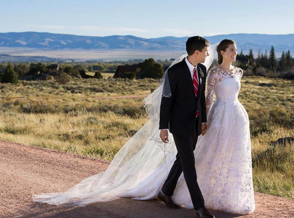 Allison Williams Instagram Wedding