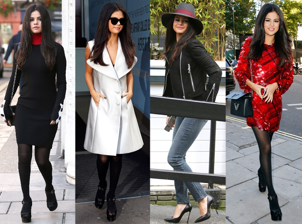 Selena Gomez Crushes It In London Wearing 4 Different