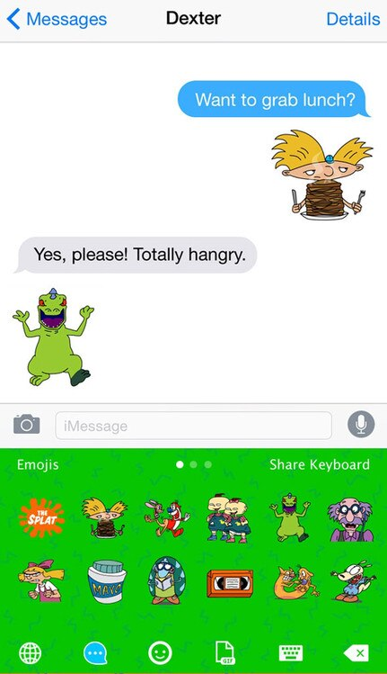 Nickelodeon Emojis