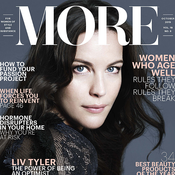 Liv Tyler, More Magazine