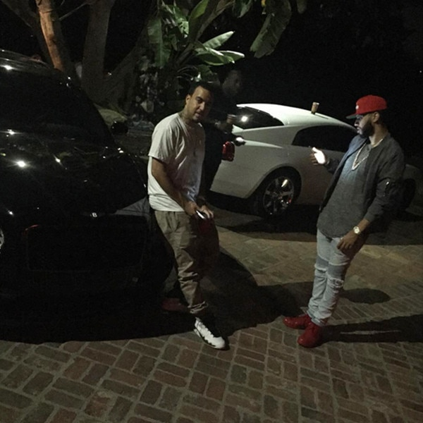 French Montana, From Rob Kardashian's Instagram
