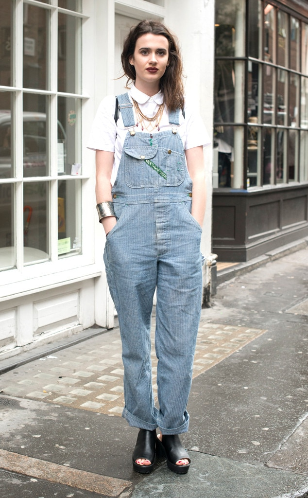 Olivia Miller From Street Style At London Fashion Week Spring 2016 E News