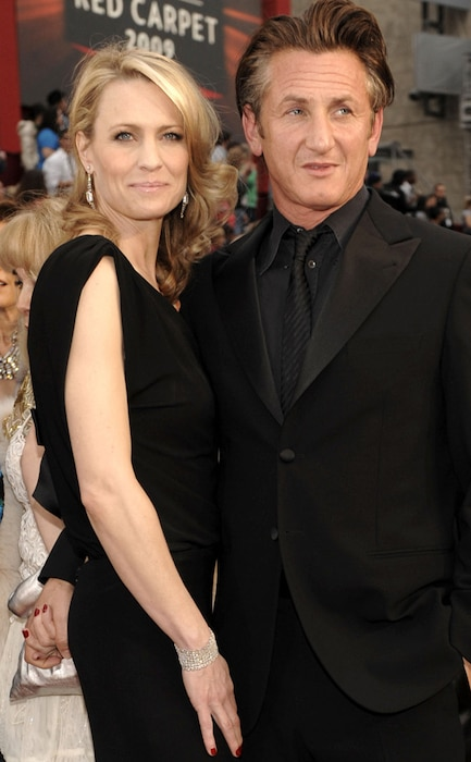 Sean Penn, Robin Wright Penn