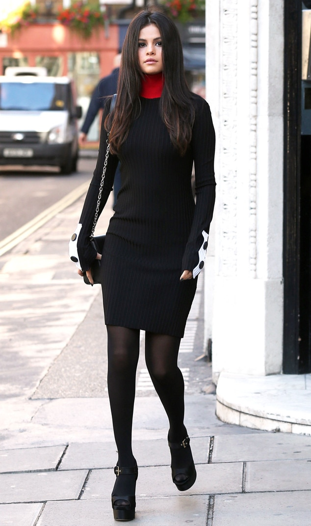 Slick Sleek From Selena Gomez 39 S Street Style E News