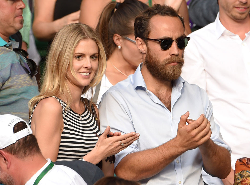 Donna Air, James Middleton