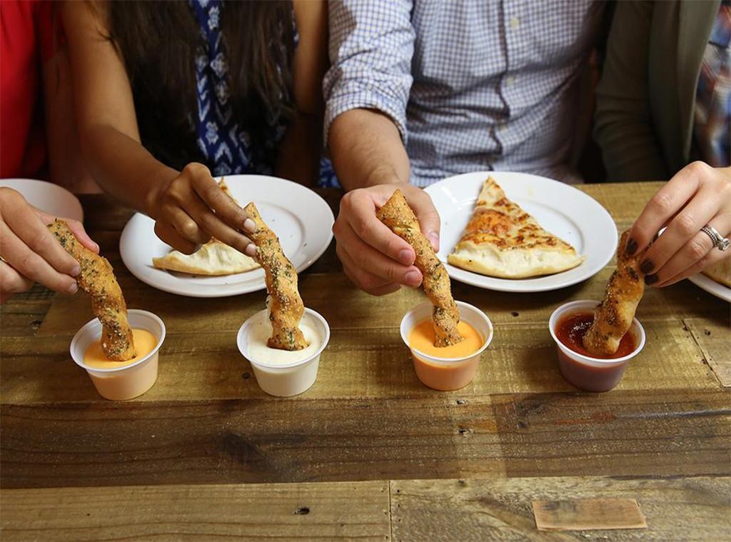 Pizza Hut Breadstick Pizza