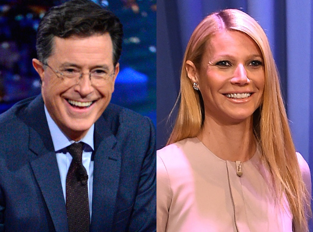 Stephen Colbert, Gwyneth Paltrow