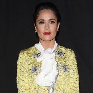 Salma Hayek, Milan Fashion Week
