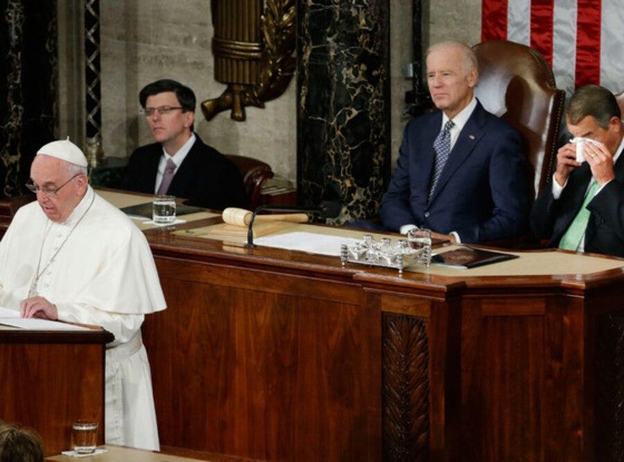 John Boehner, Joe Biden, Pope Francis
